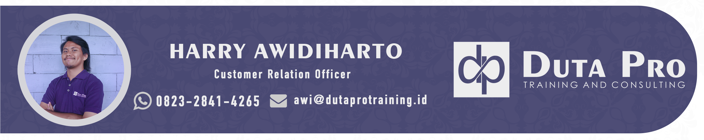 Awi contact duta pro training - Kontak Kami