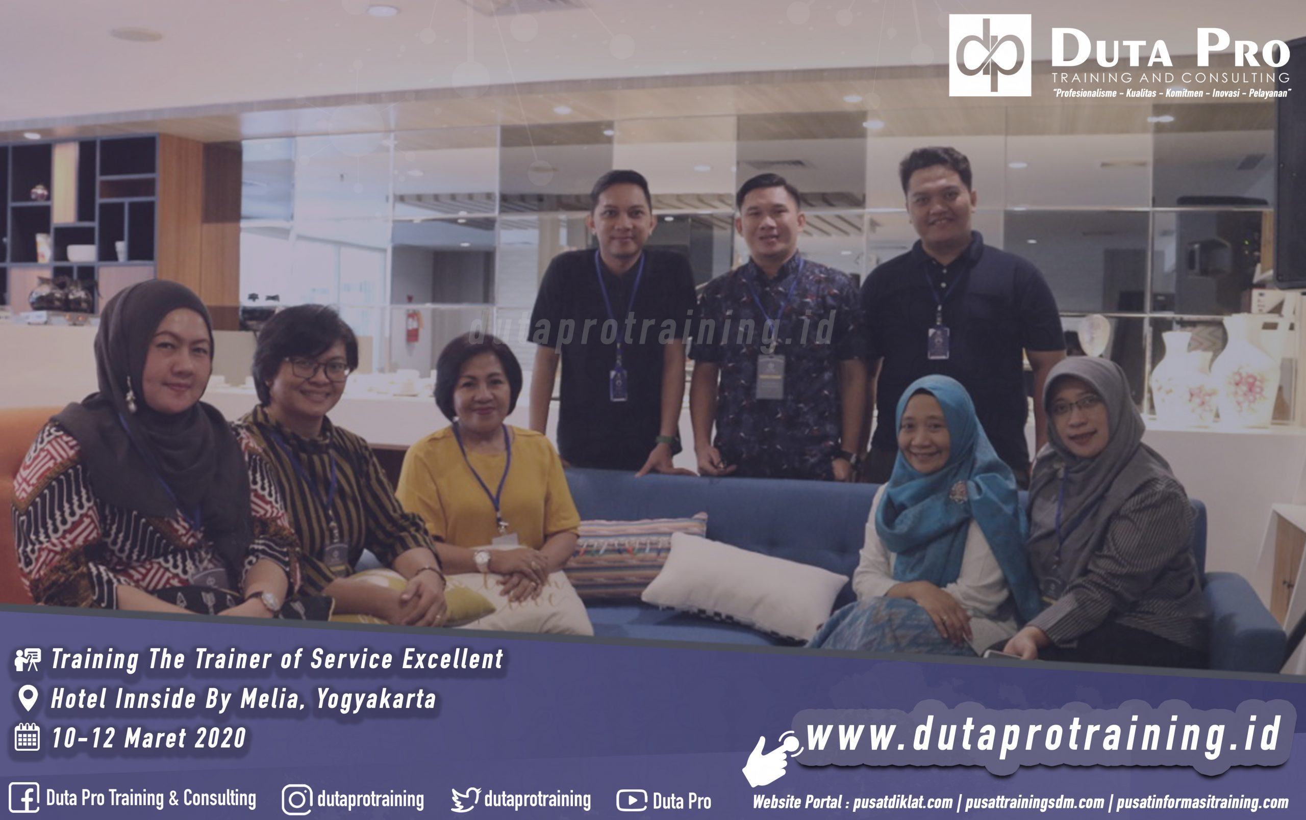 Training The Trainer of Service Excellent Hotel Innside By Melia jogja scaled 2559x1609 - Training Customer Service Skills for Online Service