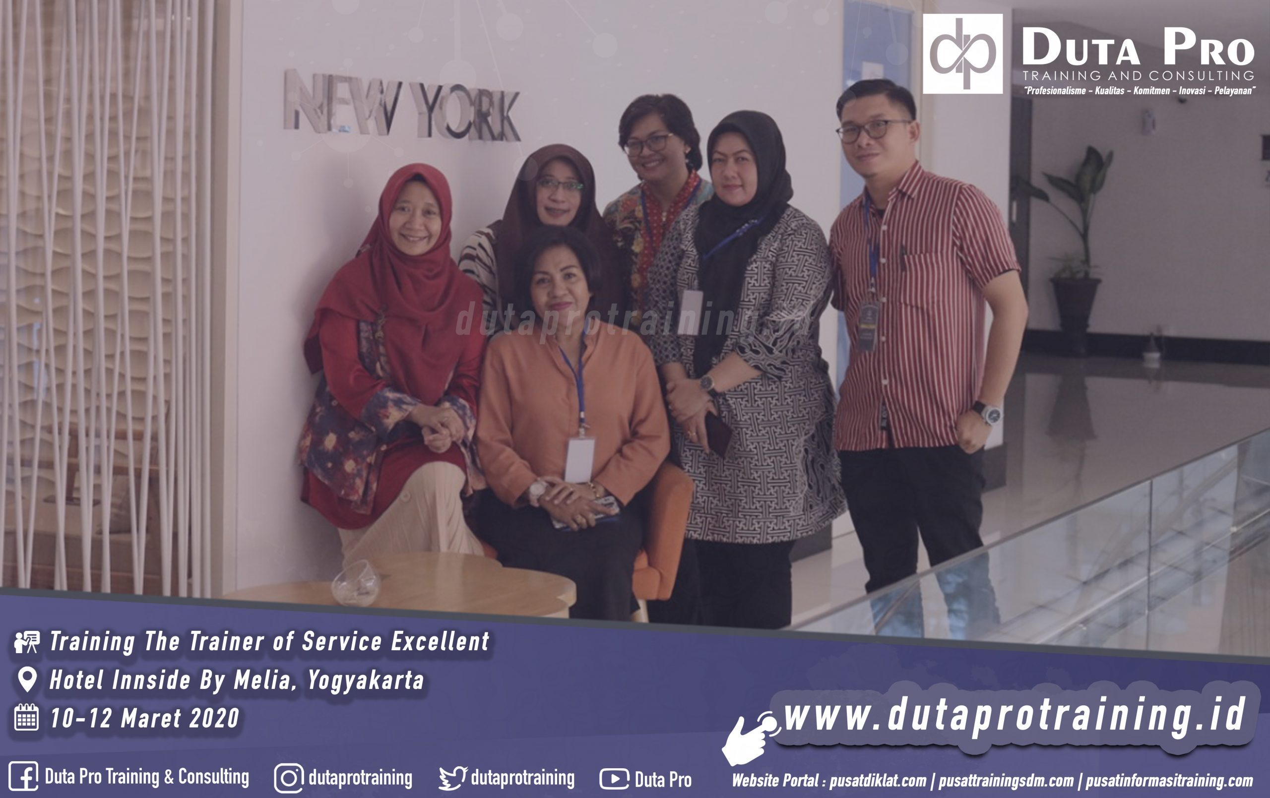 Training The Trainer of Service Excellent Hotel jogja duta pro. Galeri Website scaled 2559x1609 - Training Customer Service Skills for Online Service