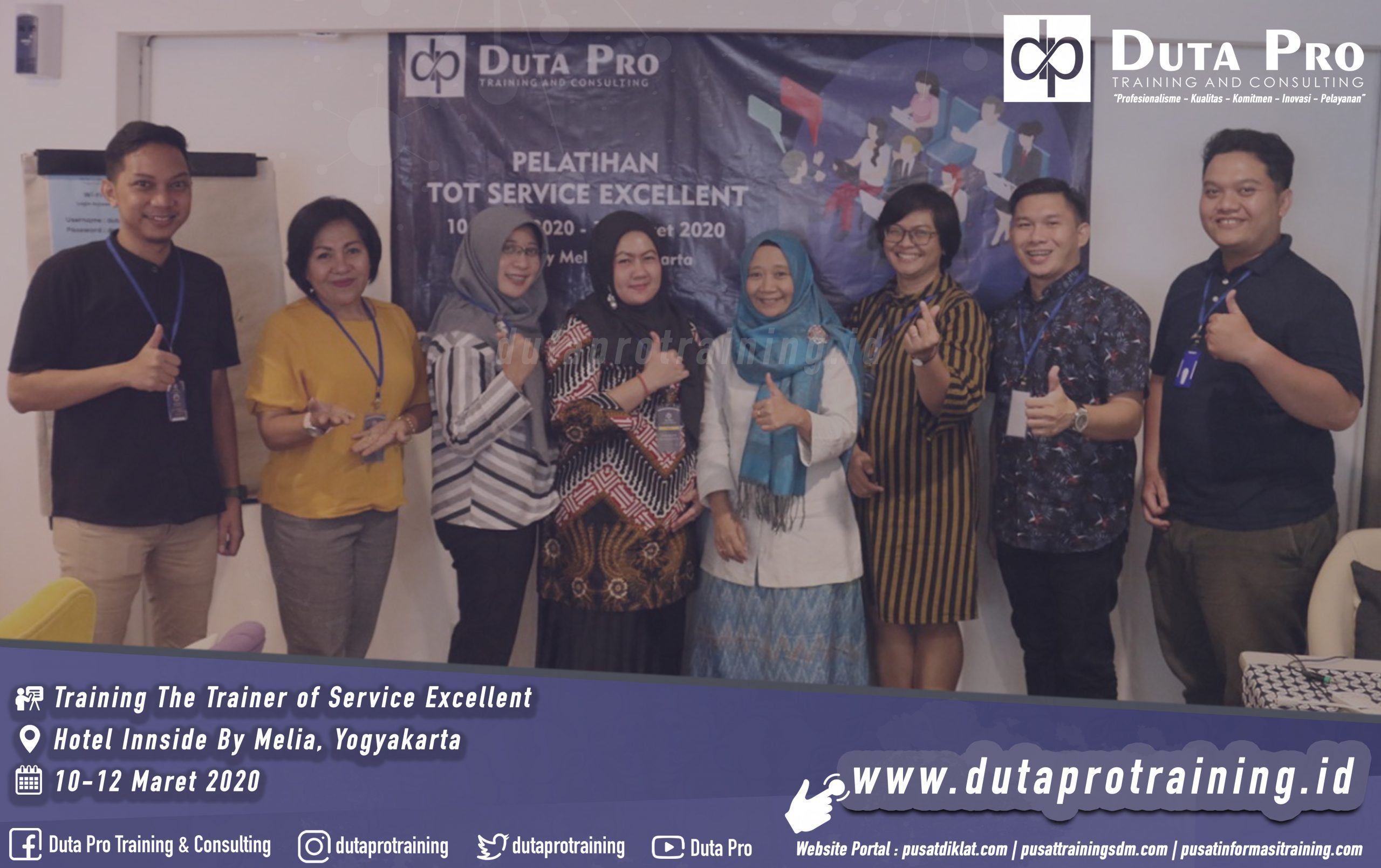 Training The Trainer of Service Excellent Yogyakarta Galeri Website scaled 2559x1609 - Training Customer Service Skills for Online Service