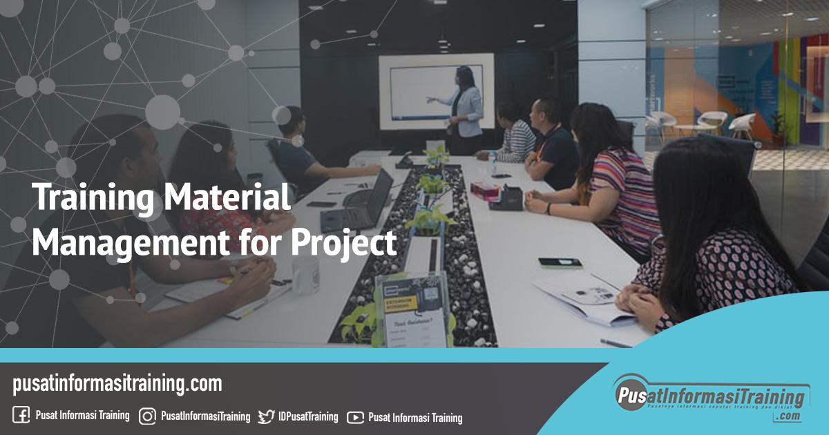 Fitur Informasi Training Material Management for Project Training Jadwal Pelatihan Jogja Jakarta Bandung Bali Surabaya